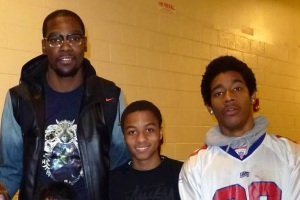 TimQuan and Kamil with KD.