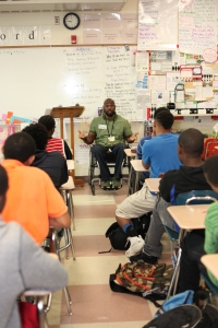 Titus Broom came through and captivated RISE with his powerful story.