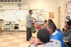 Reginald Bean sharing his personal experiences with RISE.