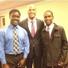 Josh and Dre with Author/Motivational Speaker Wes Moore