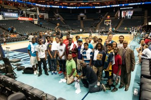RISE Mentoring Program @ Charlotte Bobcats 4-12-14 --Media Arts Collective LLC mac330.com